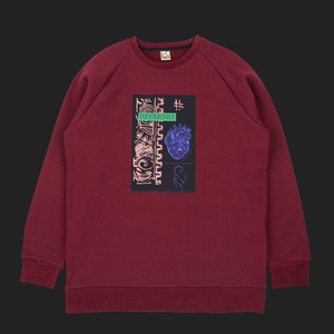Listen 2 your heart MTM unisex - Burgandy