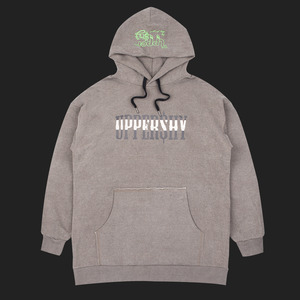 Uppershy Punching logo hoodie - Type A