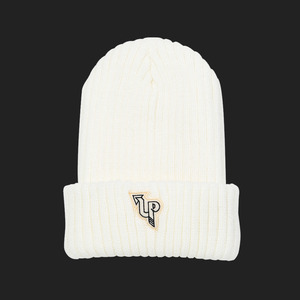 Uppershy logo beanie Type B Ivory